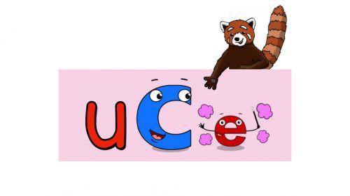 Word Fluency Practice: uCe