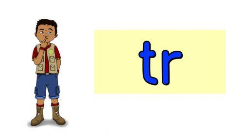 Word Fluency Practice: TR